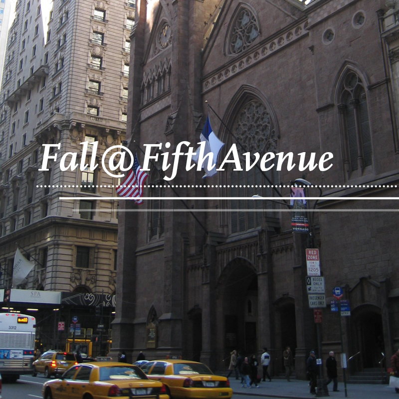 Fall at Fifth Avenue Presbyterian Church